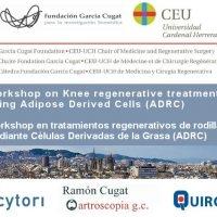 Workshop en tratamientos regenerativos de rodilla mediante Células Derivadas de la Grasa (ADRC)